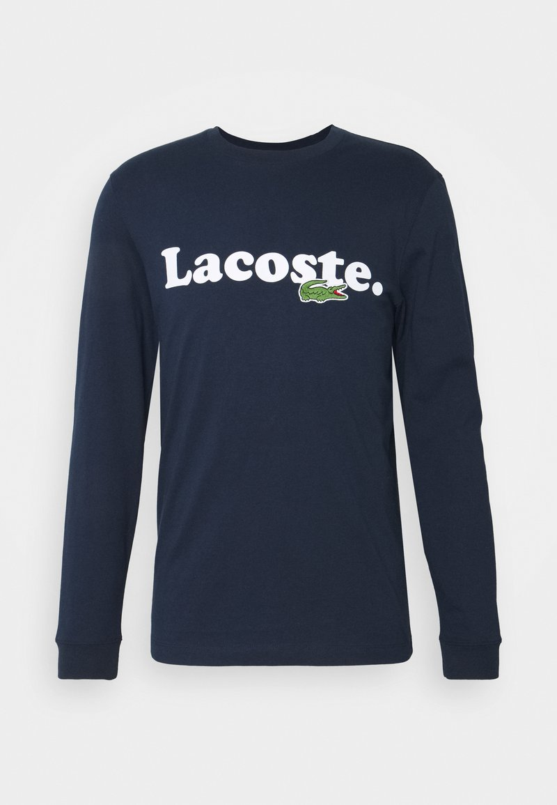 Lacoste - Long sleeved top - navy blue