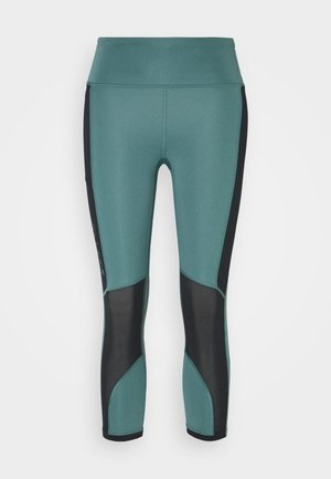 RUN ANYWHERE CROP - Tights - lichen blue