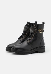 Copenhagen Shoes - TIME OF MY LIFE - Lace-up ankle boots - black - 2