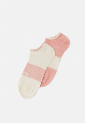 LOW CUT 2 PACK UNISEX - Skarpety - pink combo