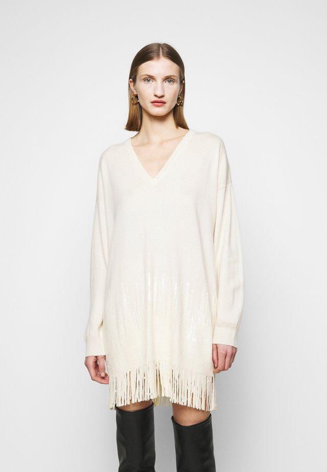 ABITO - Sukienka dzianinowa - beige