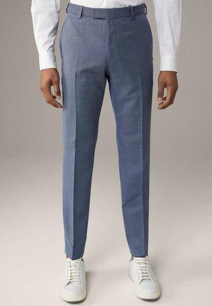 MERCER - Suit trousers - medium blau