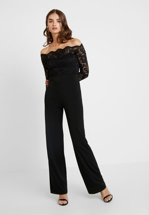 OFF SHOULDER - Tuta jumpsuit - black