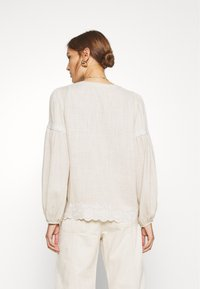 We are Kindred - IMOGEN BLOUSE - Bluser - oatmeal - 2