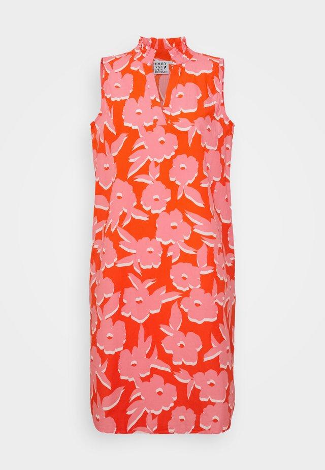 Vestido informal - orange/pink