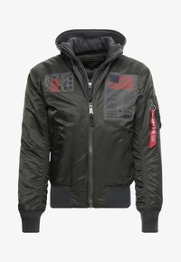 Alpha Industries - BLOOD CHIT - Veste mi-saison - greyblack - 5