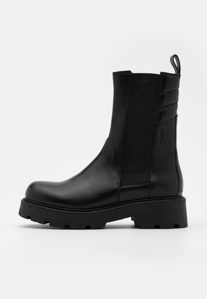 COSMO - Platform ankle boots - black