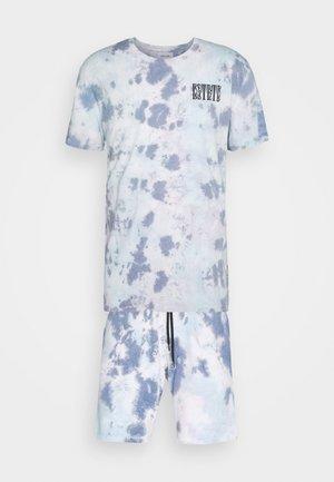 SET - Teplákové kalhoty - blue
