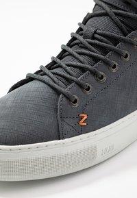 HUB - MURRAYFIELD - Sneakers hoog - washed navy/dust - 5