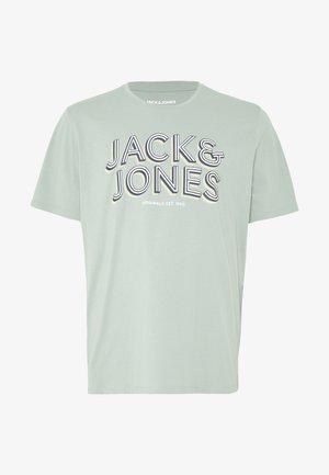 JORVENICEBEACH TEE CREW NECK  - Print T-shirt - green milieu