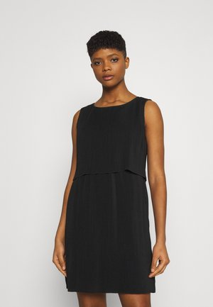 ONLMARIN LAYERING SHORT DRESS - Robe en jersey - black