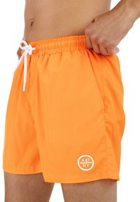 AÉROPOSTALE - Swimming shorts - orange - 2