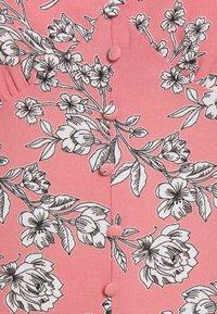 Glamorous Tall - PUFF SLEEVE PLUNGE FLARED DRESS - Maxi dress - peach - 2