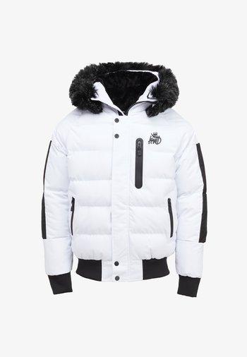 BROMLEY PUFFER BOMBER JACKET - Light jacket - white