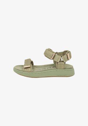 LINE - Sandals - grün