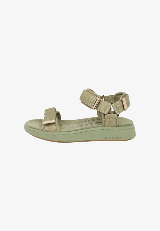 LINE - Sandaalit nilkkaremmillä - grün