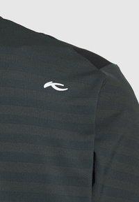Kjus - MEN DAVID MIDLAYER JACKET - Fleece jacket - dark jet green/black - 2