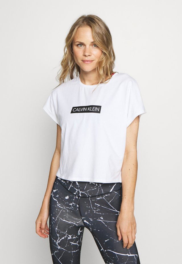 SHORT SLEEVE - Print T-shirt - white