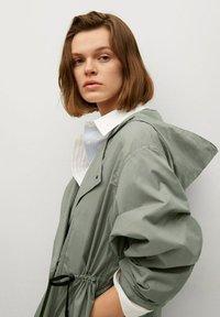 Mango - Waterproof jacket - kaki - 3