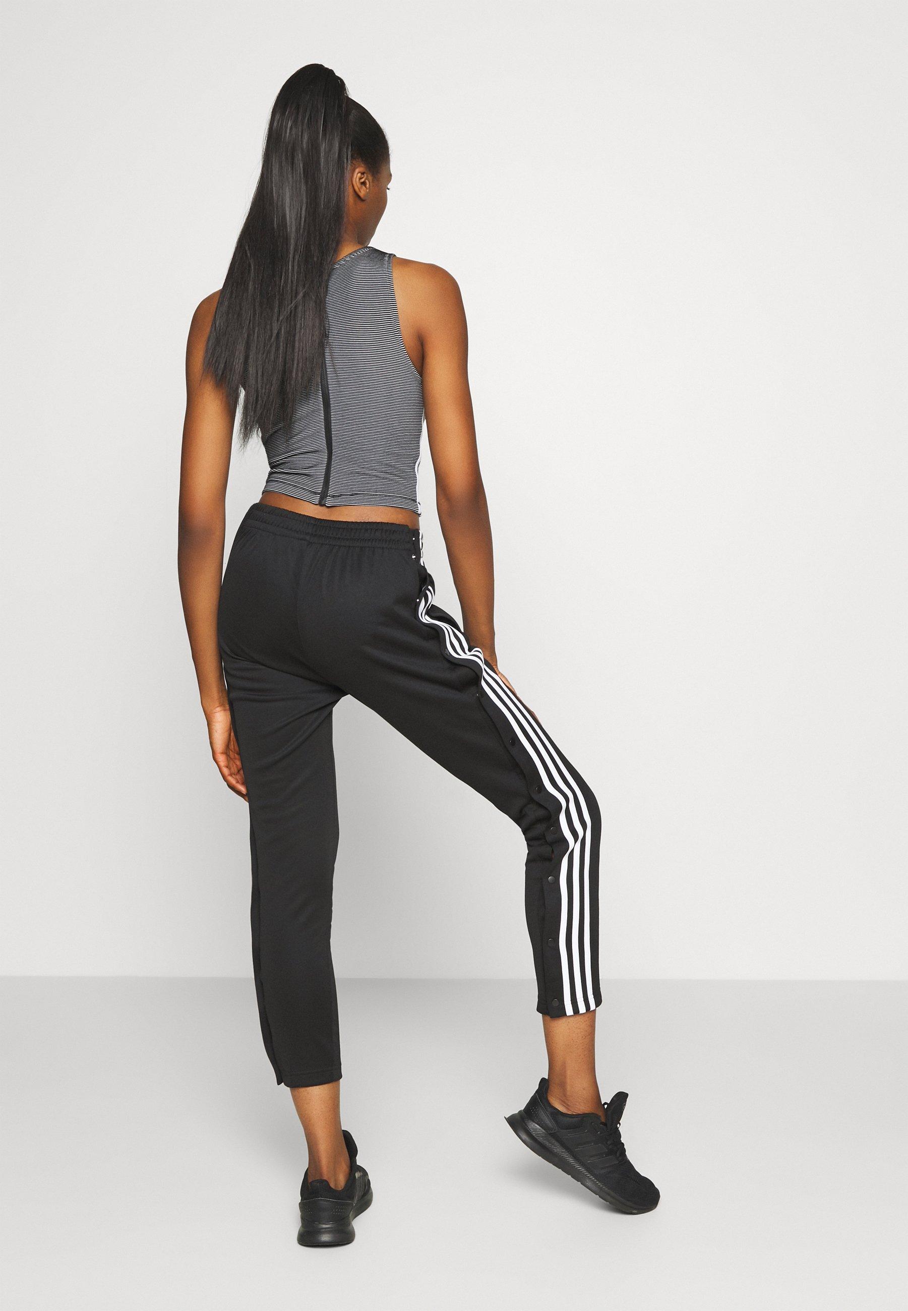 adidas Performance SNAP PANT - Tracksuit bottoms - black 3Hhy1