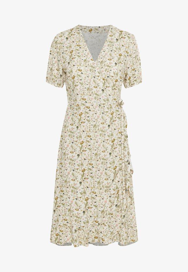 Vestito estivo - peach blossom botanical print