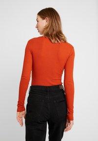 Even&Odd - BODYSUIT BASIC - Maglietta a manica lunga - rusty - 2