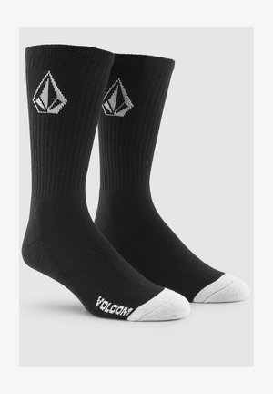 FULL STONE SOCK 3PK - Socks - black
