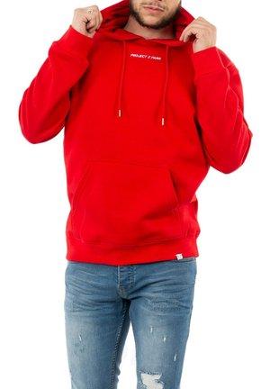 Hoodie - rouge