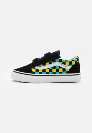 OLD SKOOL UNISEX - Matalavartiset tennarit - black/multicolor