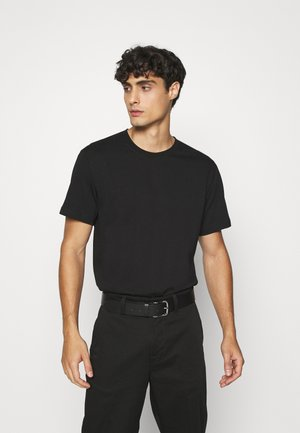 T-SHIRT - Basic T-shirt - black dark