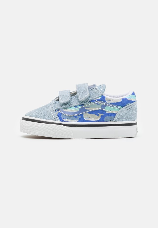 OLD SKOOL UNISEX - Sneakers basse - blue fog/baya blue/true white/black/natural drill