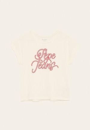ALBERTA - Print T-shirt - off-white