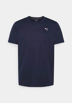 PERFORMANCE TEE - Basic T-shirt - peacoat