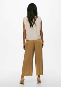 ONLY - Trousers - toasted coconut - 2