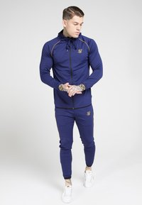 SIKSILK - SCOPE CARTEL ZIP THROUGH HOODIE - Training jacket - navy - 1