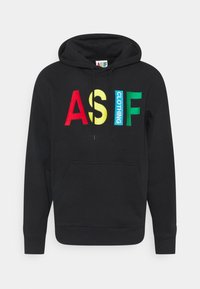 AS IF Clothing - HOODIE BIG LOGO UNISEX  - Sweater - black - 0