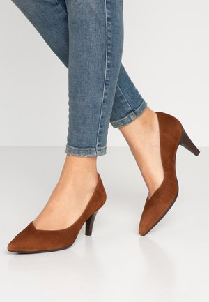KEALA - Classic heels - toast