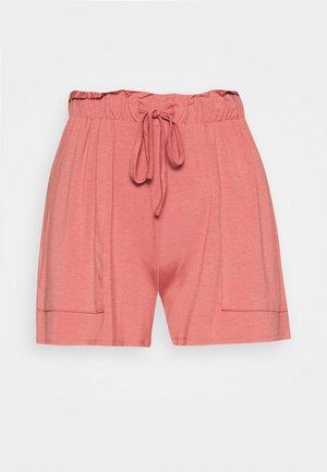 PCNEORA FRILL - Shorts - canyon rose