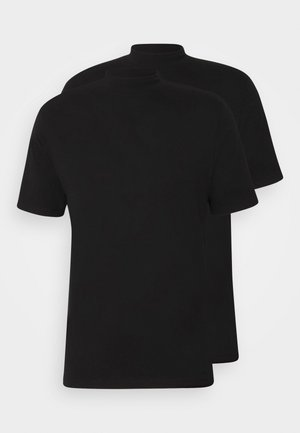 TURTLE 2 PACK - Basic T-shirt - black