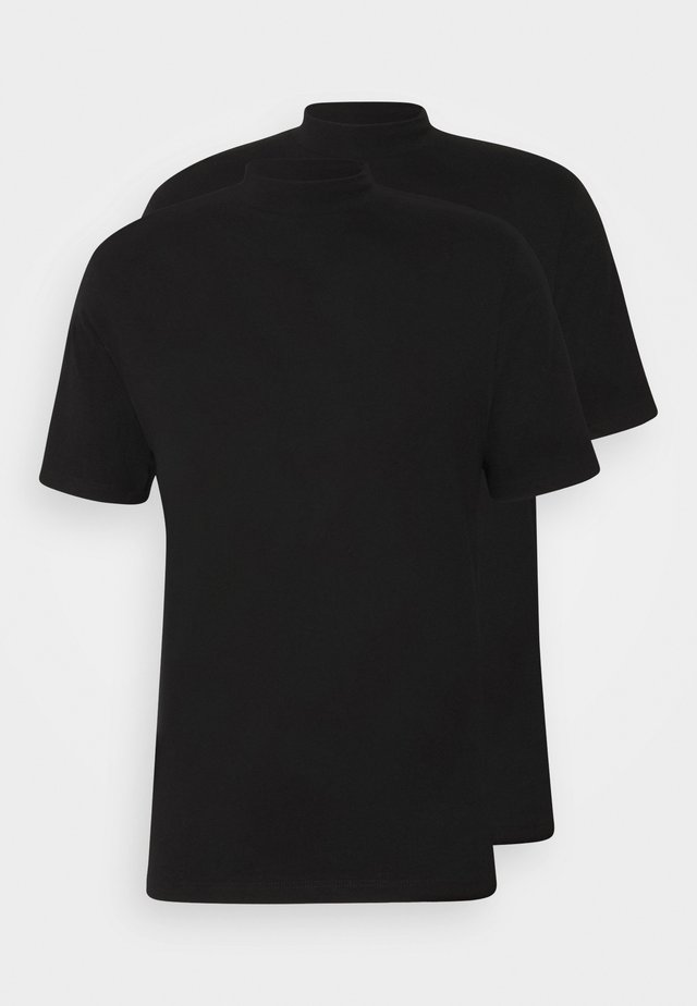 TURTLE 2 PACK - T-shirt basic - black