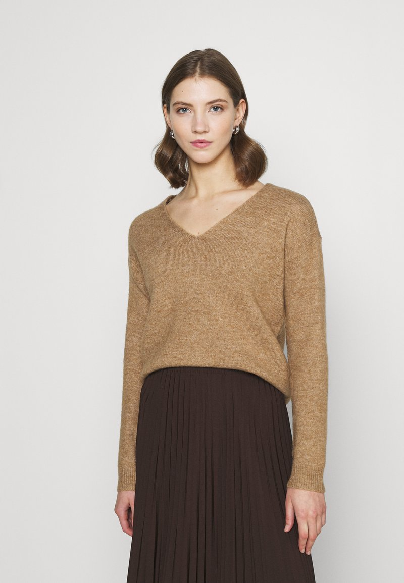 Pieces - PCPERLA - Jumper - toasted coconut