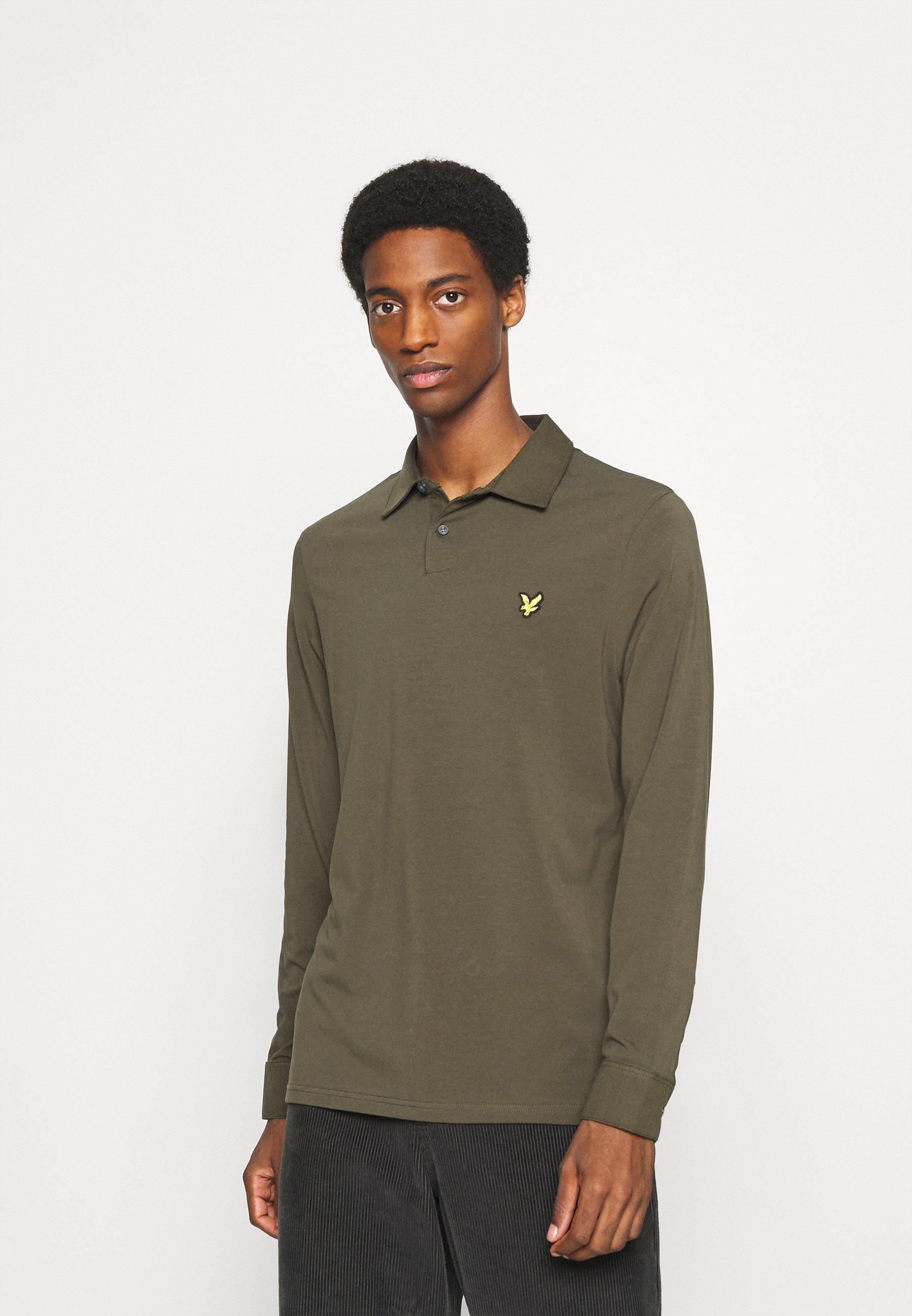 Men WOVEN COLLAR  - Polo shirt