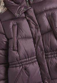 Next - Zimní kabát - dark purple - 2