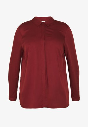 JRMARY - Button-down blouse - madder brown