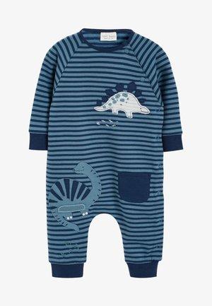 DINO STRIPE - Jumpsuit - blue