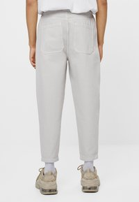Bershka - Trousers - grey - 2