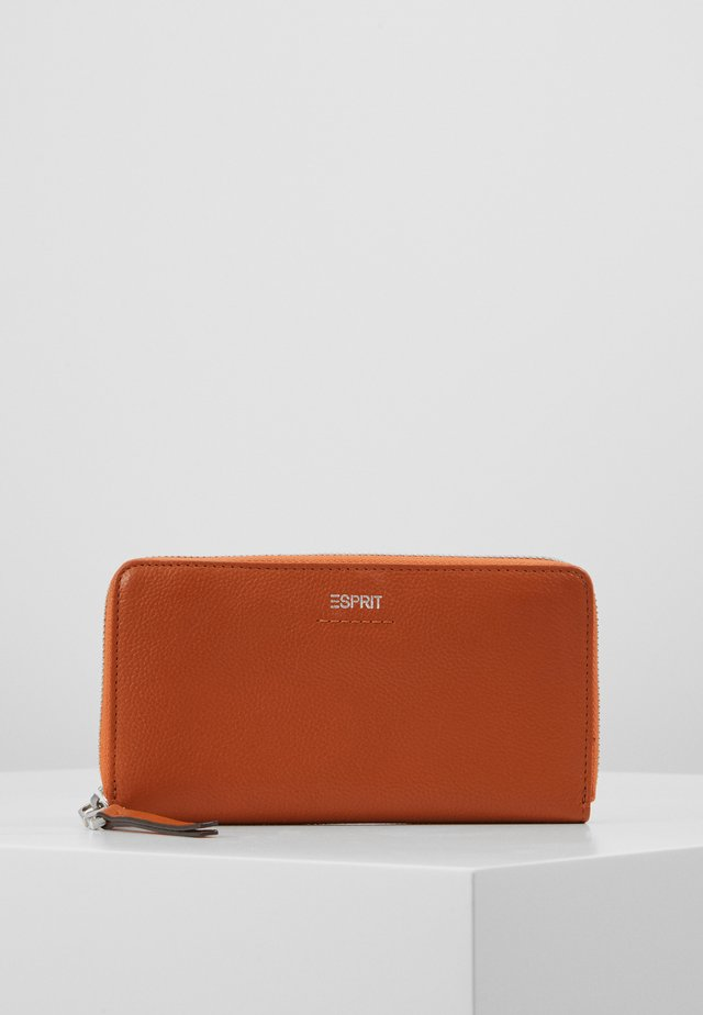 Wallet - burnt orange