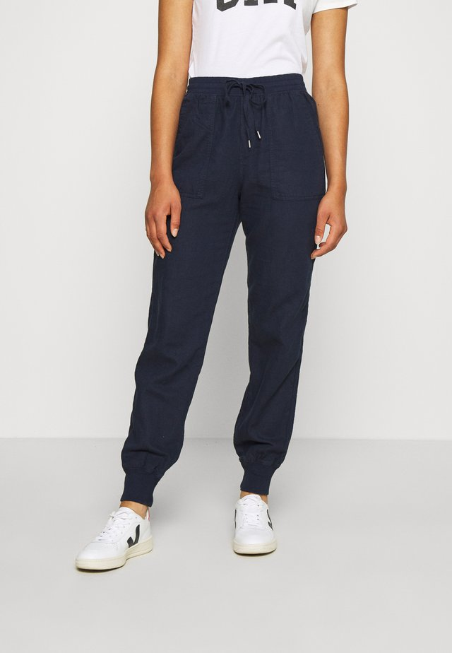 UTILITY JOGGER - Tracksuit bottoms - new navy
