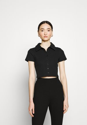 GLAMOROUS CARE CROP - Basic T-shirt - black