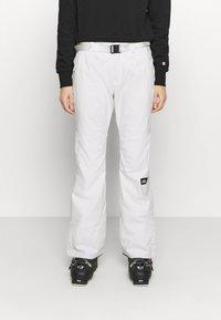 O'Neill - STAR SLIM PANTS - Schneehose - powder white - 0